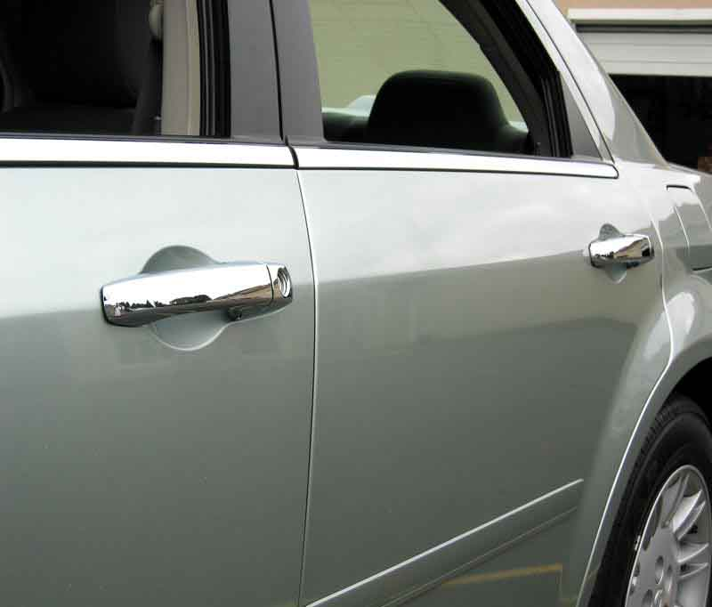 Dodge Magnum Chrome Door Handle Cover Trim Molding on Charger Magnum