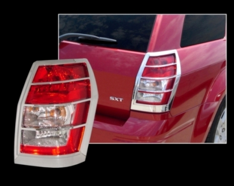 Dodge Magnum Chrome Tail Light Bezel Trim Covers