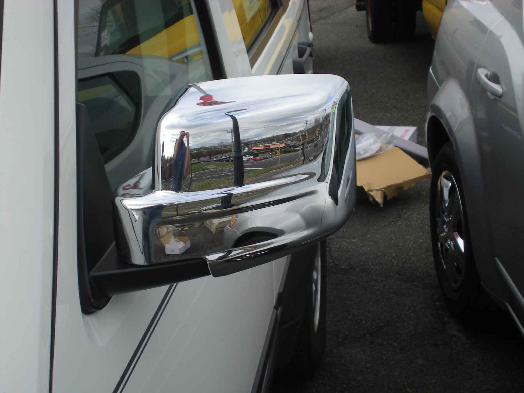 Dodge Nitro Chrome Door Handle / Mirror Cover Trim Package