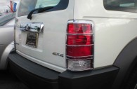 dodge nitro chrome tail light and rear handle trim