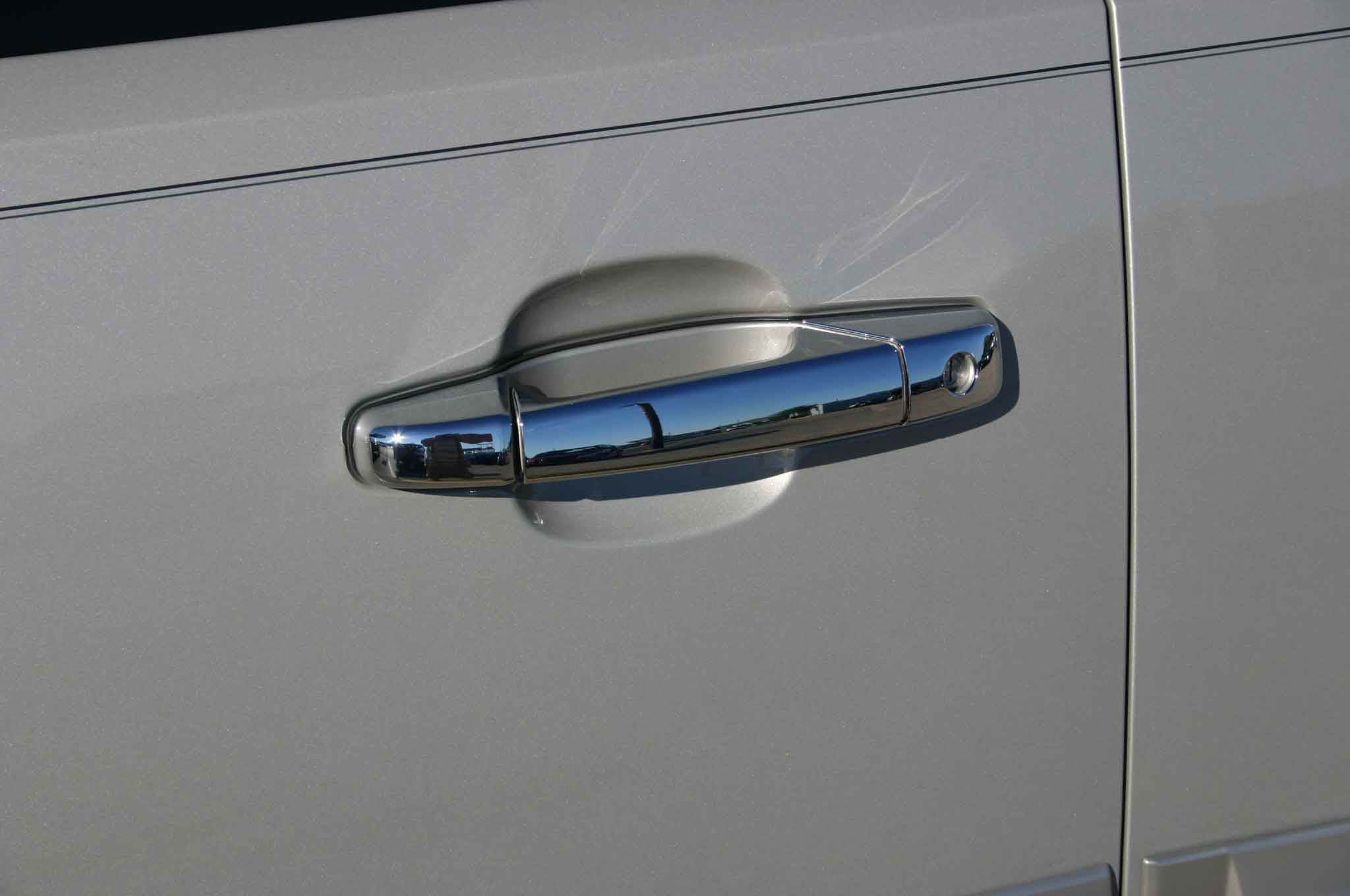 Chevy Suburban Chrome Door Handle Mirror Cover Trim Package