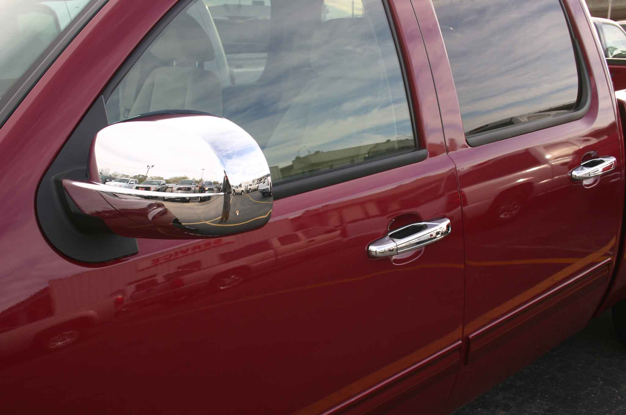 Chevy Avalanche Chrome Door Handle Mirror Cover Trim Package