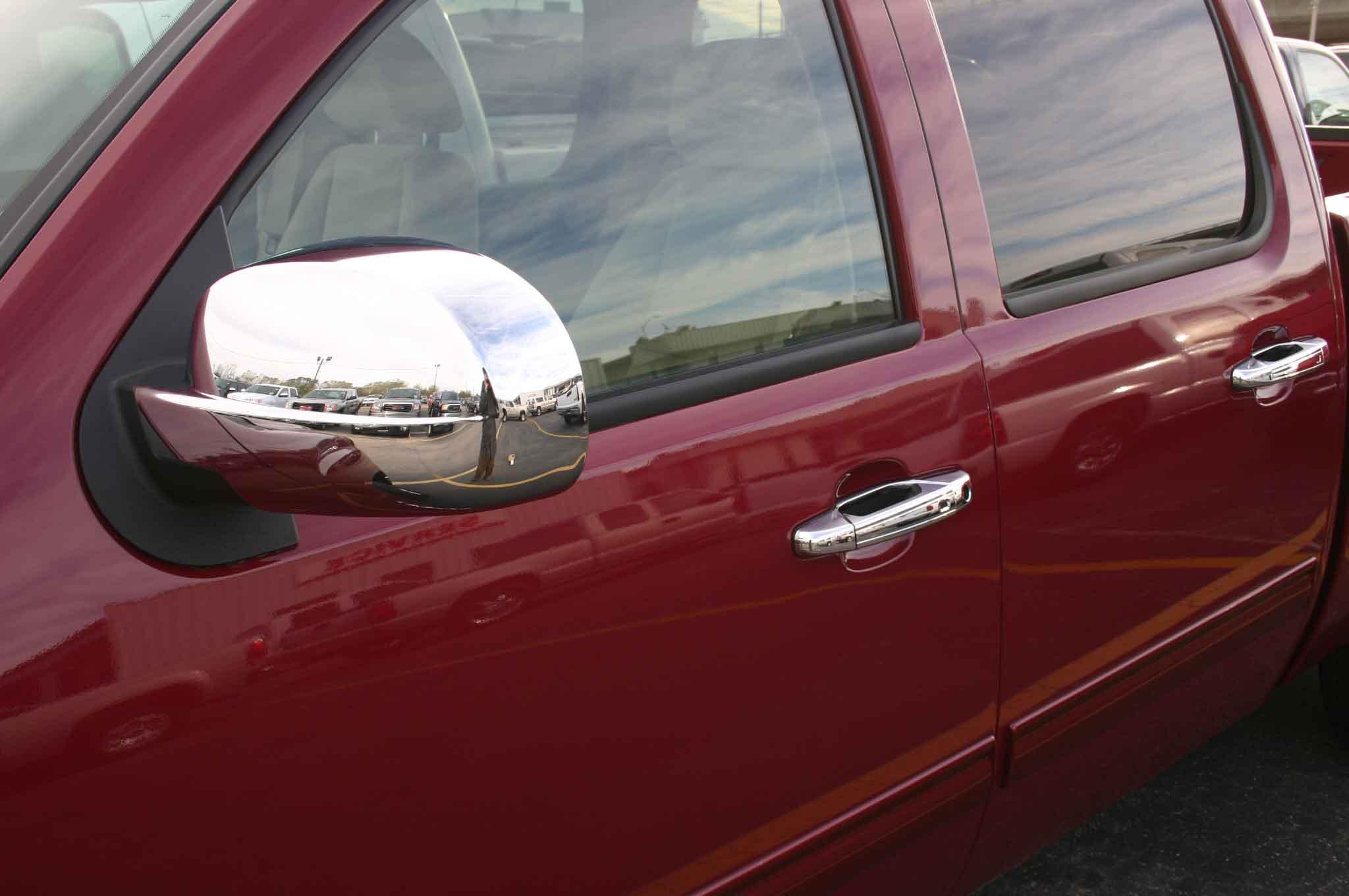 Chevy Silverado Chrome Door Handle Cover Trim