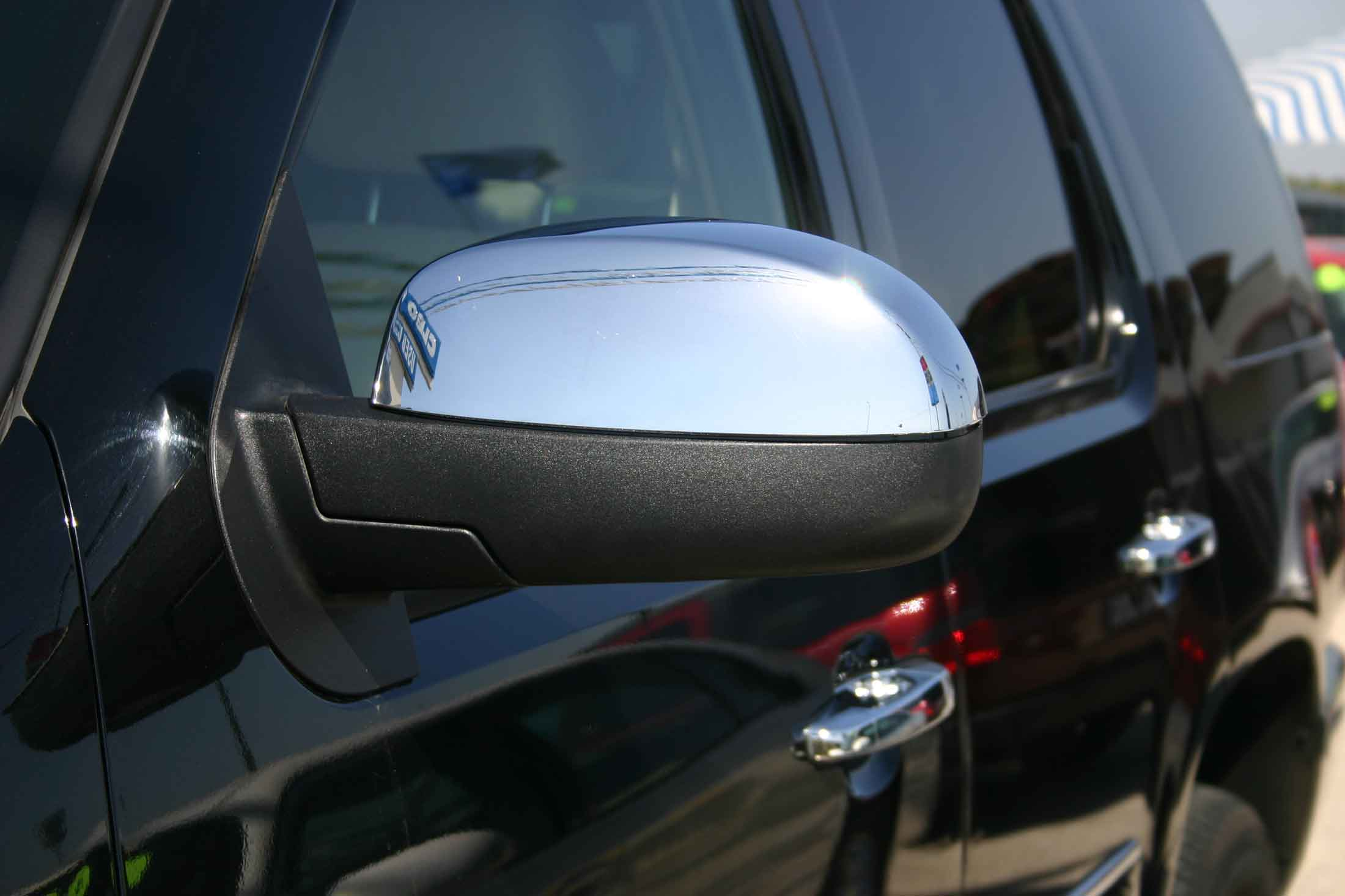 Chevy Silverado Chrome Door Handle Mirror Cover Trim Package