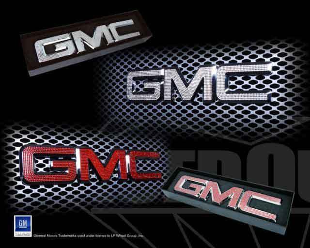 Home Emblems Iced Out Emz Chrome Gmc Grille Emblem