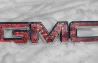 iced out emz GMC chrome grille emblem