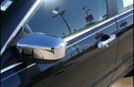 honda accord chrome door and mirror handle trim