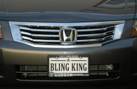 honda accord chrome grille insert trim