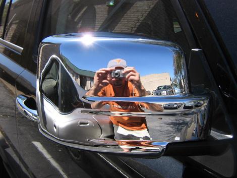 07 2015 Jeep Patriot Chrome Door Handle Mirror Cover