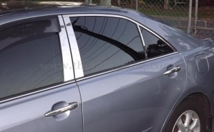 toyota camry chrome pillar post trim