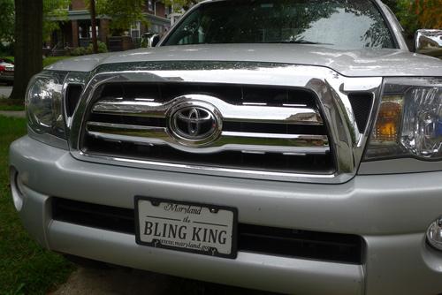 Toyota Tacoma Chrome Grille Insert Overlay Trim