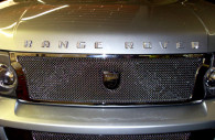 range rover chrome iced out emblems
