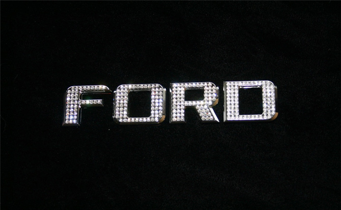 Iced Out Emz Ford Emblem