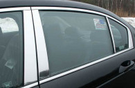 honda accord chrome pillar post trim