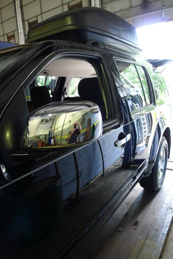 Nissan Pathfinder Chrome Door Handle Mirror Cover Trim