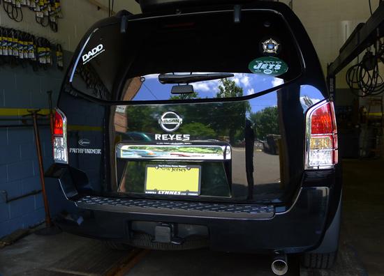 Exceptional Nissan Pathfinder Chrome Tail Light Bezel Trim ...