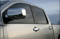 nissan titan chrome door handle and mirror cover trim