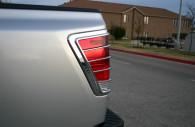 nissan titan chrome tail light bezel trim