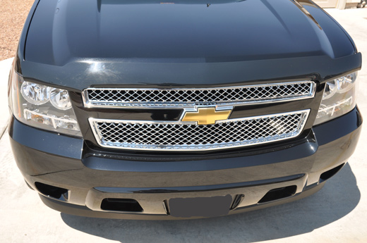 2007 Dodge Charger For Sale >> Chevy Suburban Chrome Mesh Grille Insert Overlay Trim