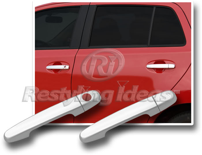 Toyota Camry Chrome Door Handle Mirror Cover Trim Package