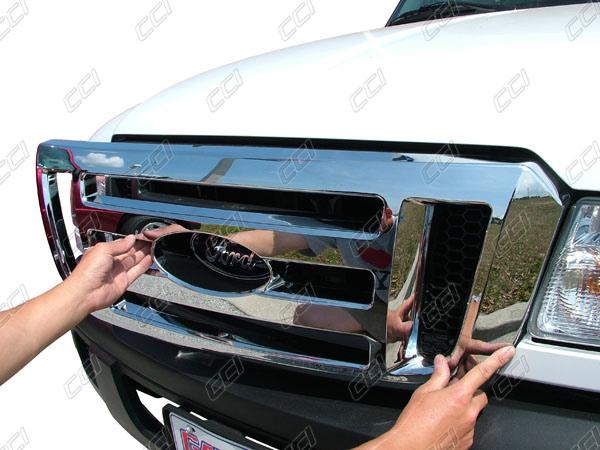Ford Ranger Chrome Grille Insert Overlay Trim