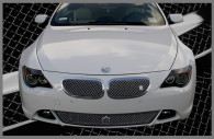 2006 bmw 745i chrome bentley mesh grille