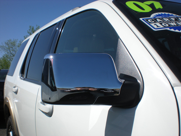 Ford Explorer Chrome Door Handle Mirror Cover Trim Package