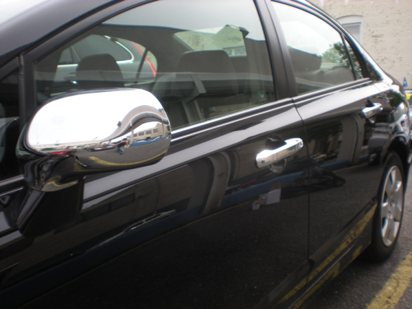 Honda Civic Chrome Door Handle / Mirror Cover Trim Package