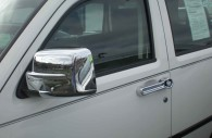Jeep liberty chrome mirror and door handle cover trim