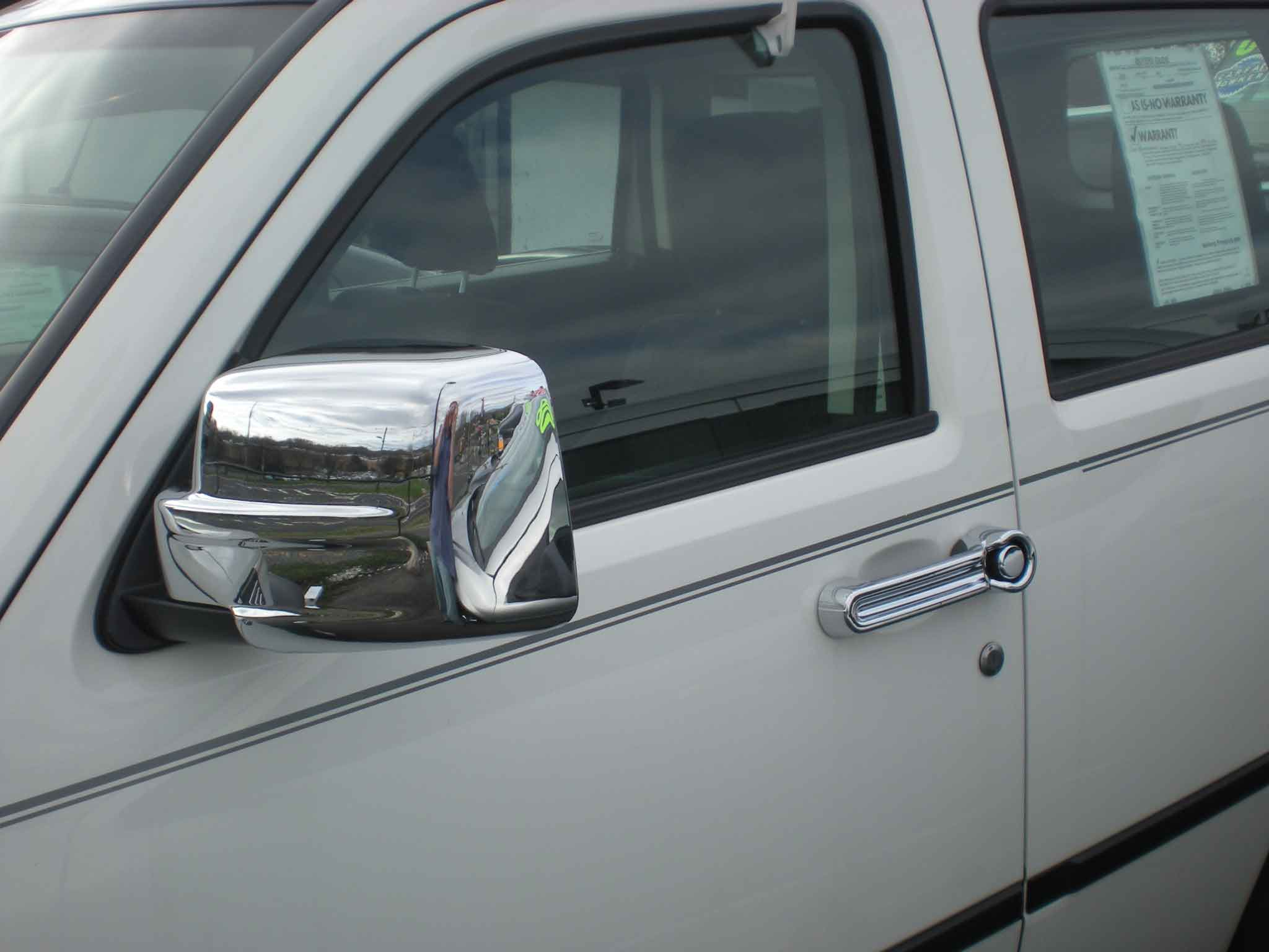 For 2008-2013 Jeep Liberty Mirror Covers 4 Door Handle Cover Chrome plated Kit