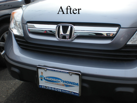 Honda Crv Chrome Grille Insert Overlay Trim