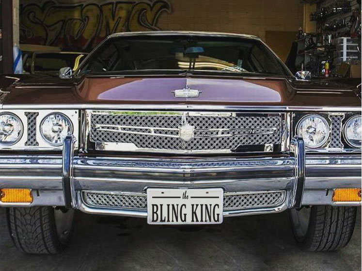 1973 Chevy Caprice Impala Chrome Grill Dual Weave Mesh