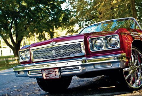 1975 1976 Chevy Caprice Impala Chrome Bentley Dual Weave