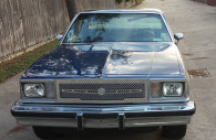 1979 chevy el camino chrome mesh grille