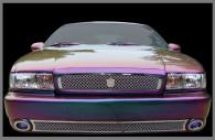 1996 chevy impala chrome bentley mesh grille