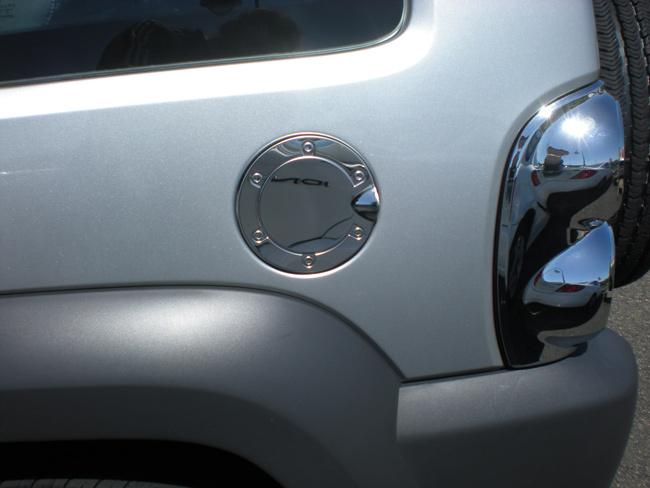 Jeep Liberty Chrome Tail Light Bezel Fuel Door Trim
