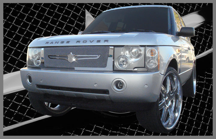 Range Rover Hse Chrome Bentley Dual Weave Mesh Grille