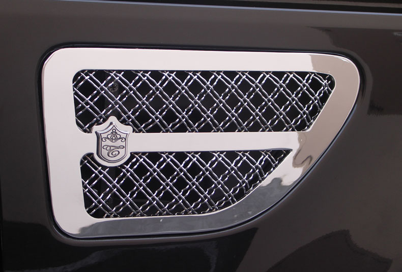 2008 Chrysler 300 For Sale >> Range Rover Sport Chrome Bentley Dual Weave Mesh Grille