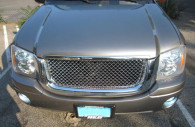 gmc envoy chrome bentley mesh grille