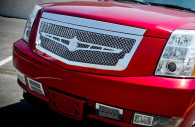 2013 cadillac escalade chrome bentley mesh grille