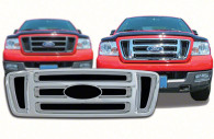 ford f150 chrome grille trim