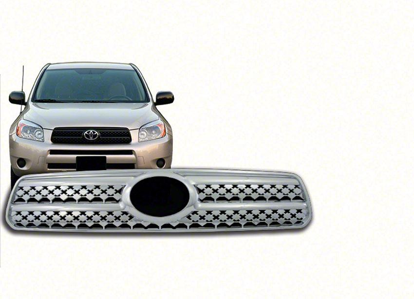 Toyota Rav 4 Chrome Grille Insert Overlay Trim