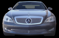 2009 mercedes s550 chrome mesh grille