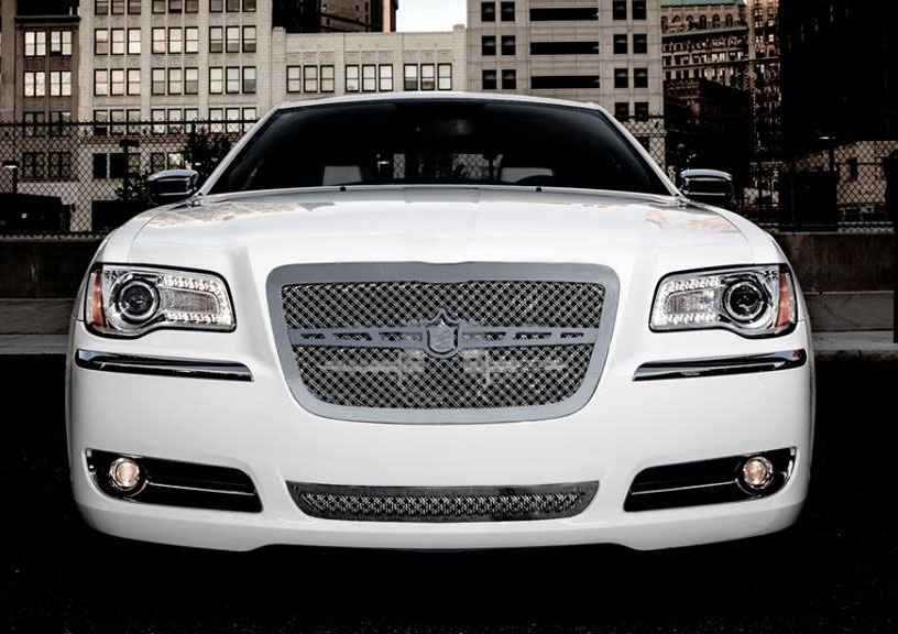 2013 Chrysler 300 Chrome Bentley Dual Weave Mesh Grille