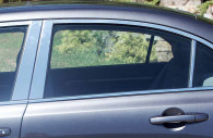 honda civic chrome pillar post cover trim