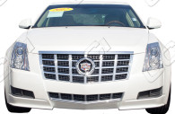 cadillac cts chrome grille insert trim