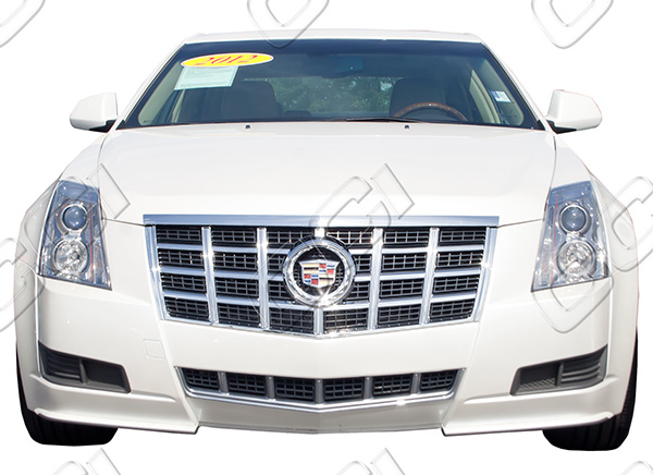 Cadillac Cts Chrome Grille Insert Overlay Trim 2012 2013