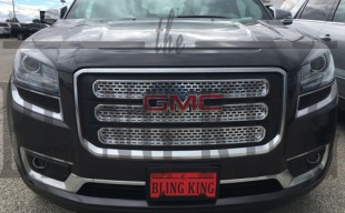 2016 gmc acadia chrome grille insert trim
