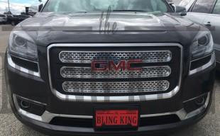 2016 gmc acadia chrome grille insert trim