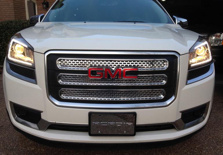 2013 2016 Gmc Acadia Chrome Grille Insert Overlay Trim